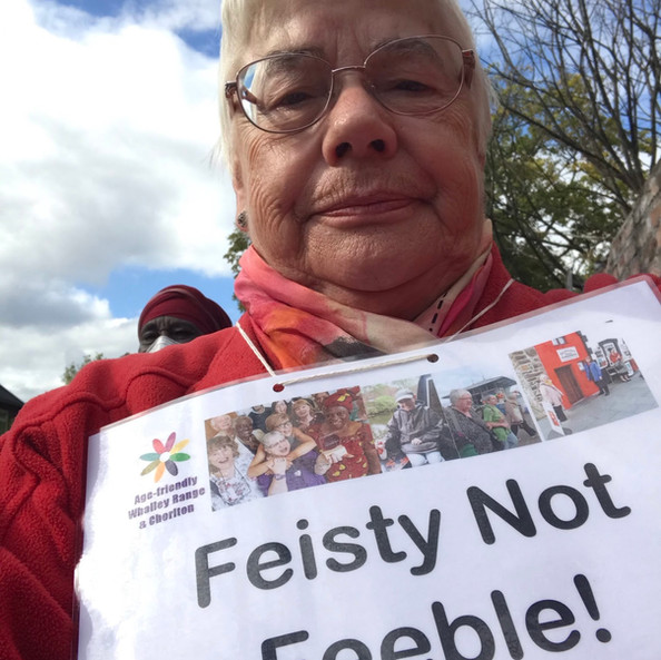 Feisty Not Feeble © Mary Watson
