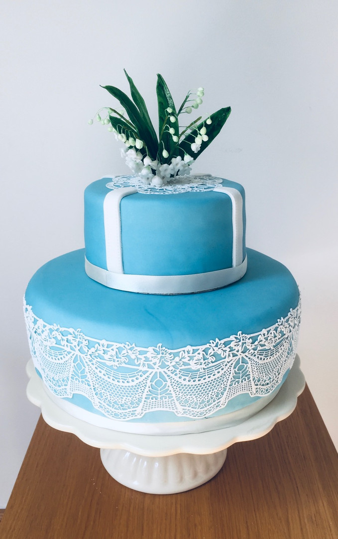 Lily of the Valley Cake