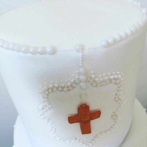 Rosary and piping detail