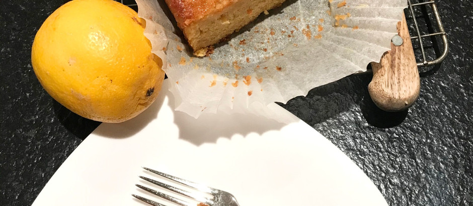 Hilary Jones' Lemon Cake