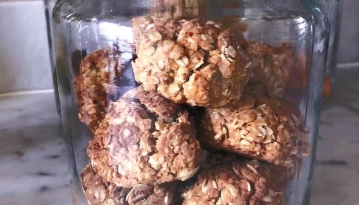 Cal McCrystal's Anzac Cookies