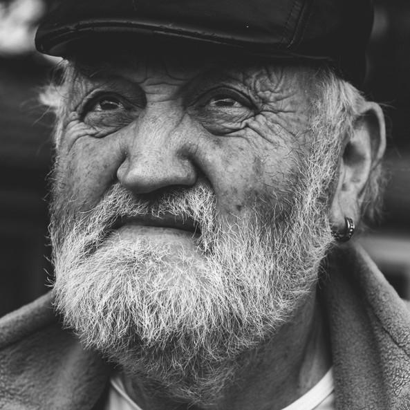 Mr Steven Right, Old and Proud Mancunian © Elwira Stadnik