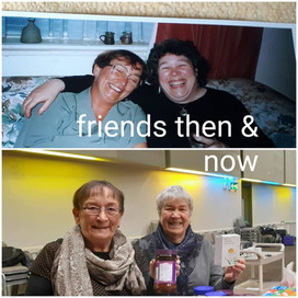 Friends Then and Now © Kath Constable