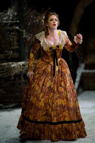 Musetta in La Boheme at The Royal Opera House, Covent Garden, 2012