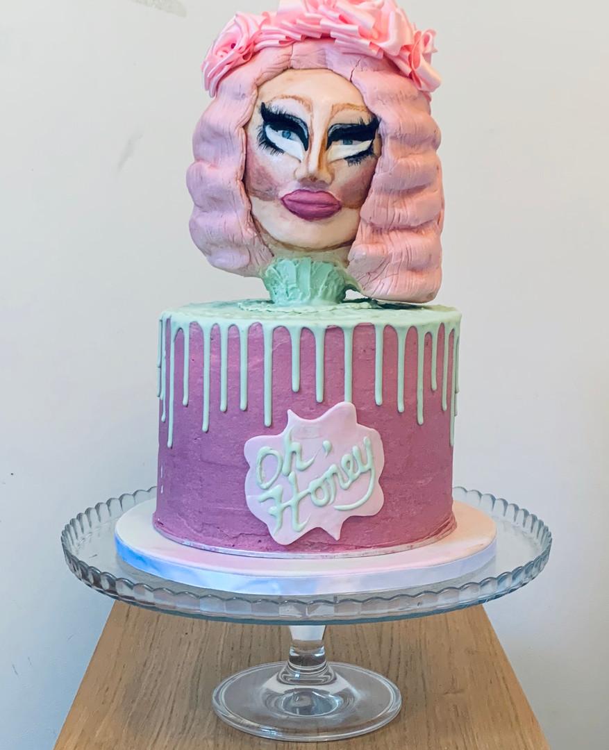Trixie Mattel 'Oh Honey' Cake