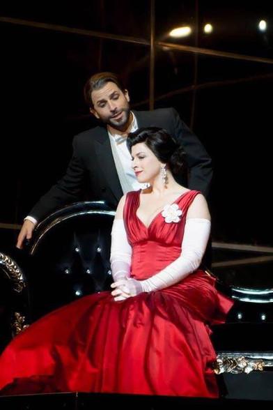 Violetta in La Traviata with Enea Scala (Alfredo), NZ Opera, 2016