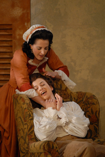 Cherubino in Le Nozze di Figaro, with Kim Sheehan (Susanna)