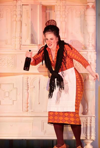Berta in Il Barbiere di Siviglia at The Royal Opera, Covent Garden 2016