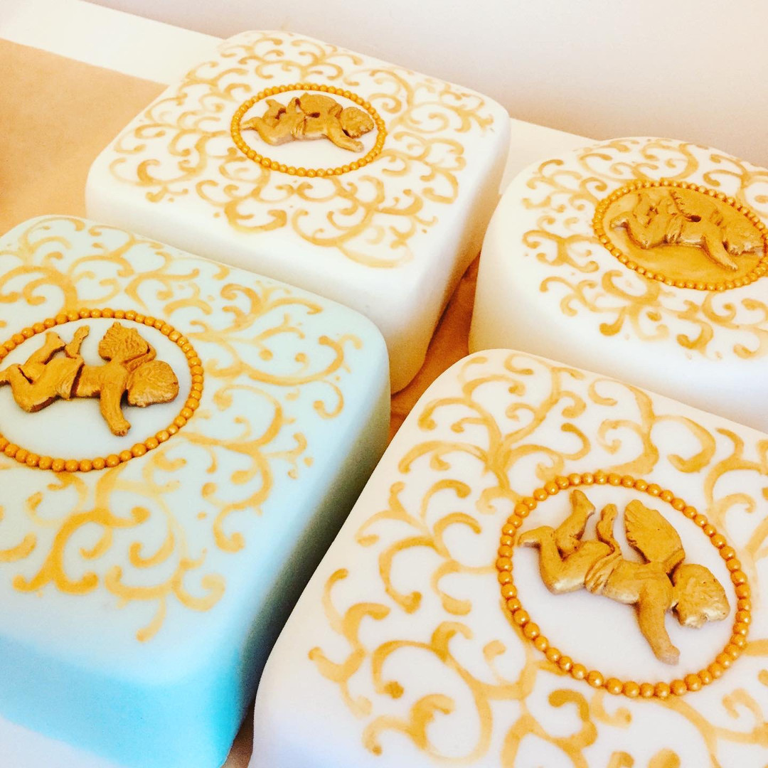 Christmas cake production line
