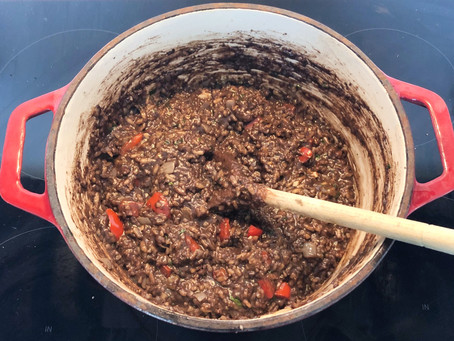 Colin Currie's Stornoway Black Pudding Risotto