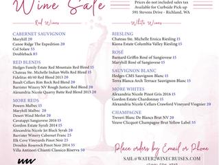 W2W Wine Sale
