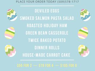 Pre-Order Easter Dinner