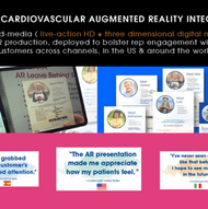 2019 Most Innovative Strategy - Field Force Augmented Reality Integration from Confideo Labs