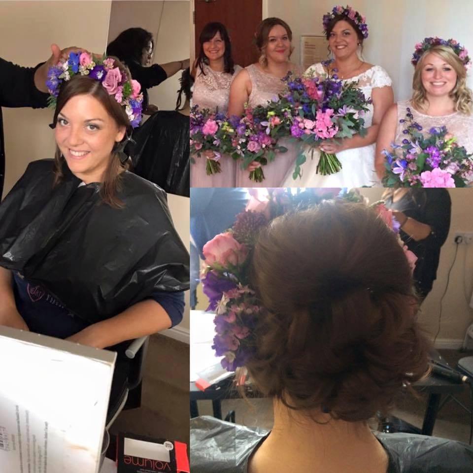 Bridal Hair including trial