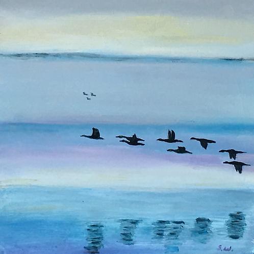 Cold Flight in Laurel by Stuart Whalen