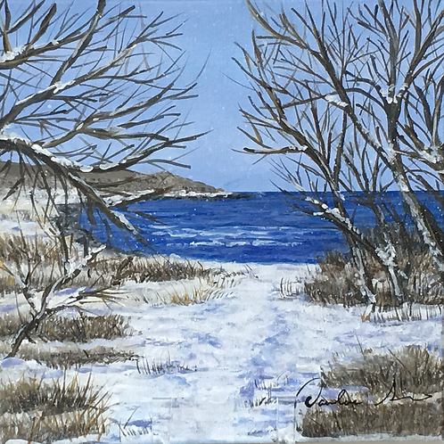 Winter Sound View by Darlene Siracusano