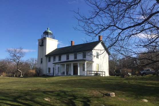 Horton Point lighthouse exterior
