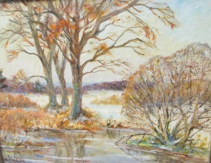 "Helen Kroeger painting 1892-1986 ""Februa"