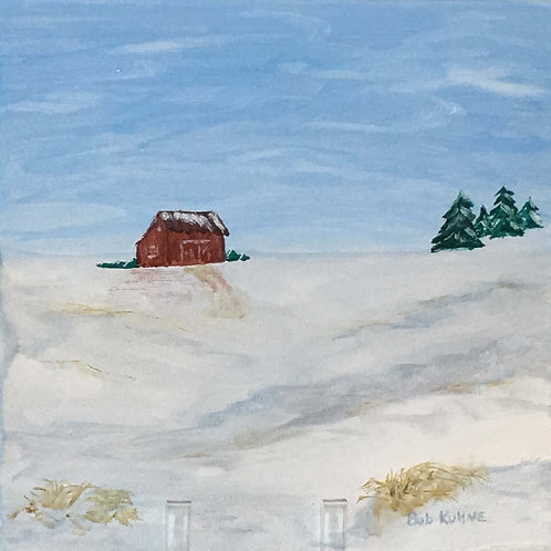 Red Barn by Bob Kuhne