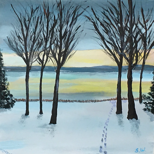 Cold Morning in Laurelby Stuart Whalen