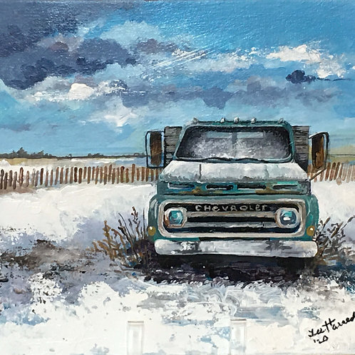 Parked for Winter by Lee Harned