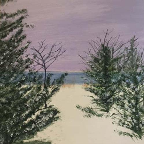 Fresh Snow by Mary Epperlein