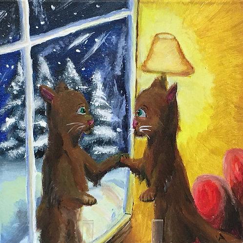 Winter Reflectionby Victoria Anderson