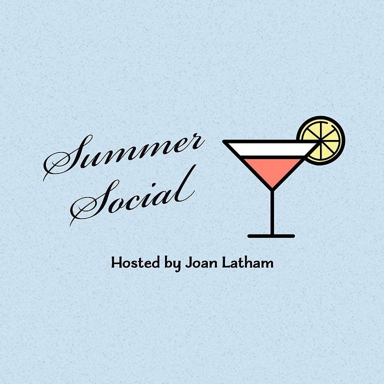 **MEMBERS ONLY** Summer Social August 21st - Joan Latham