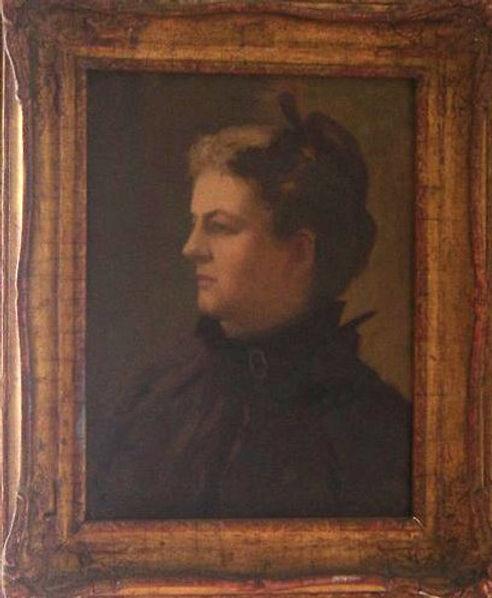 WCTU member Ella Boldry Hallock portrait