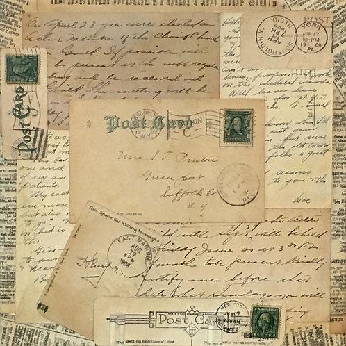 Dear Mrs. Preston, Dec. 29, 1907by Joan Murray