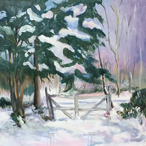 Winter Gate 2 by Adelaide Amend