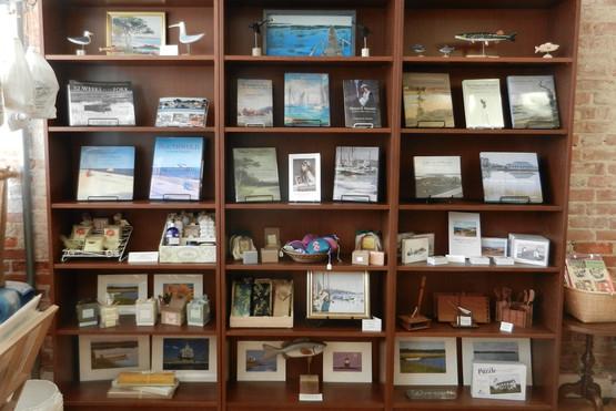 Gift Shop Book Shelf