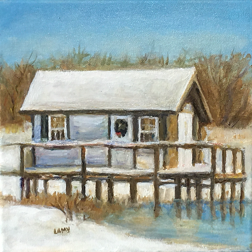 Crab Shack Orient Pt by Marilyn Lamy
