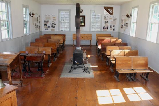 Bay View Schoolhouse classroom