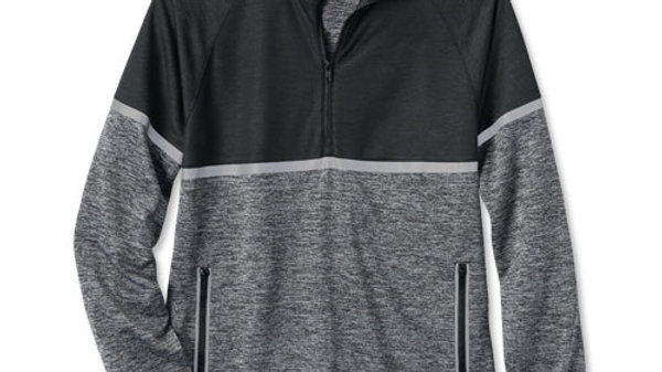Half-Zip Reflective Double Knit