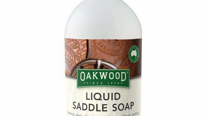 OAKWOOD LIQUID SADDLE SOAP LEATHER CONDITIONER AND CLEANER 16.9 OZ.