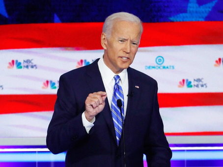 Dem Debate #2 - Biden on Defense