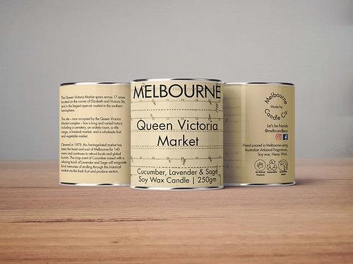 Queen Victoria Markets - Cucumber Sage Lavender