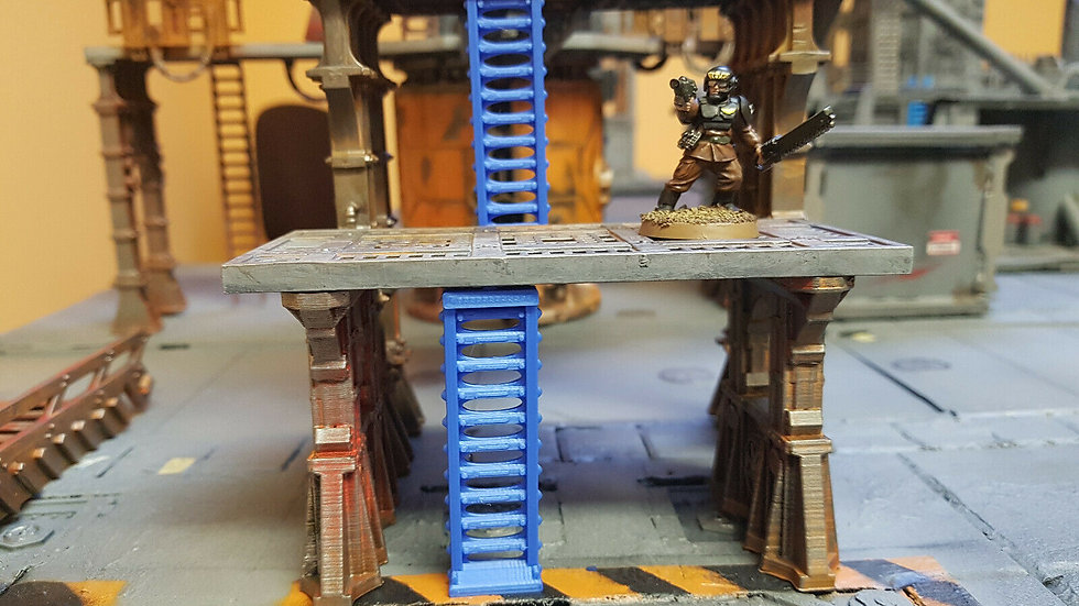 67mm Tech ladders 3 pack - compatible with sector mechanicus warhammer 40k