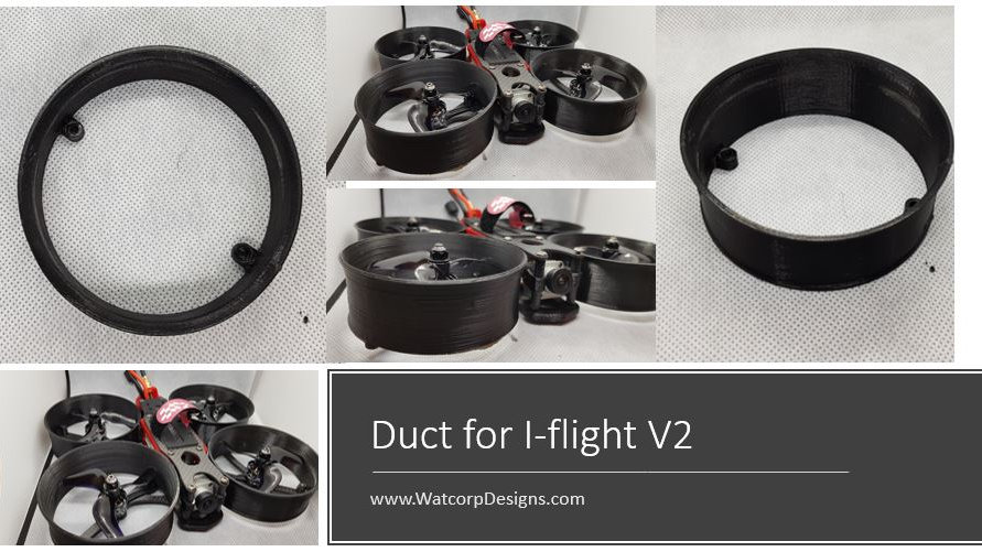 Replacement Duct for I-flight V2 Drone