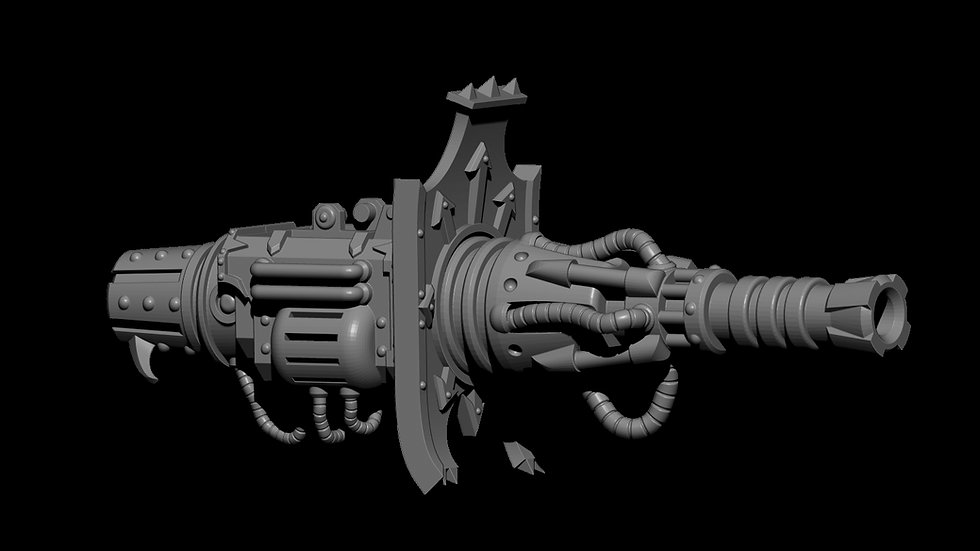 Chaos Knight Lightning cannon STL