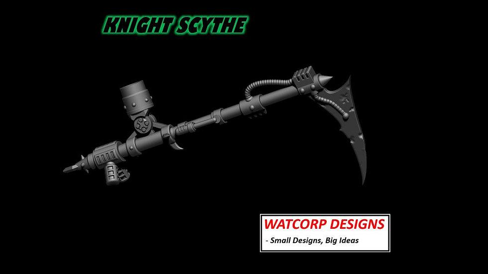 Chaos Knight scythe STL