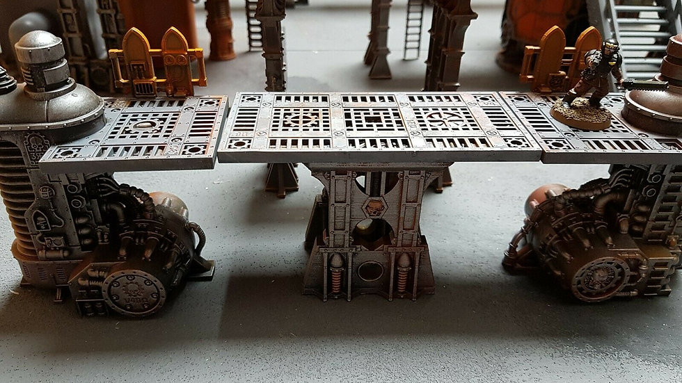 Industrial Wargaming Platform Legs type 2 - 72mm