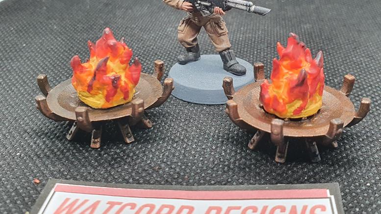 Burning Brazier