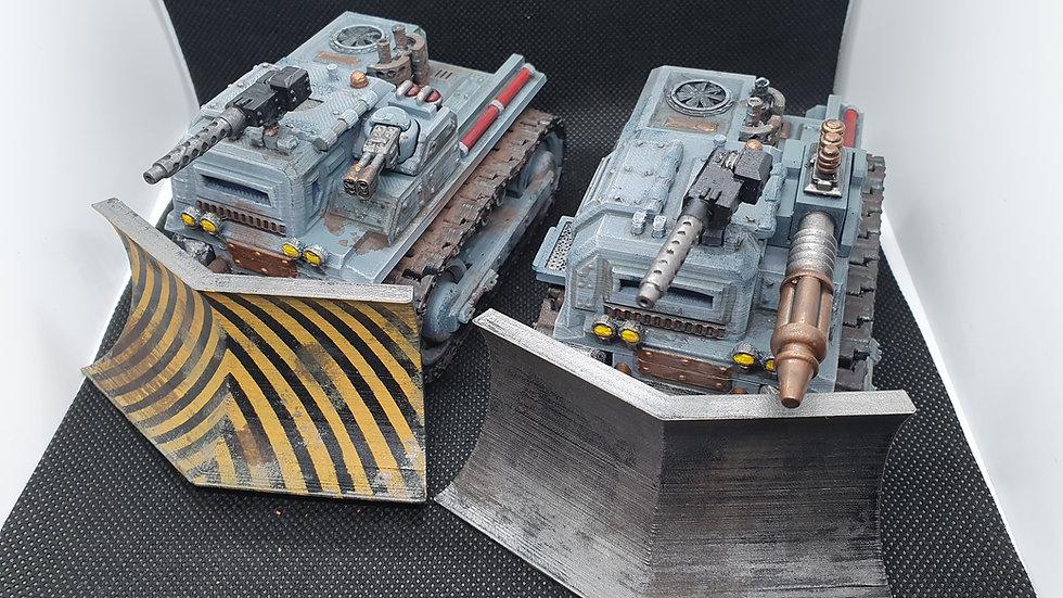 Armoured Bull Dozer