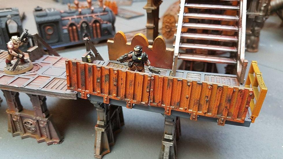 Industrial barriers - warhammer40k/necromunda/killteam