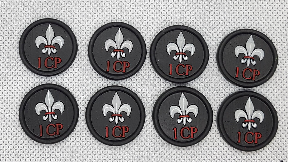 Sisters of Battle Command Point Tokens