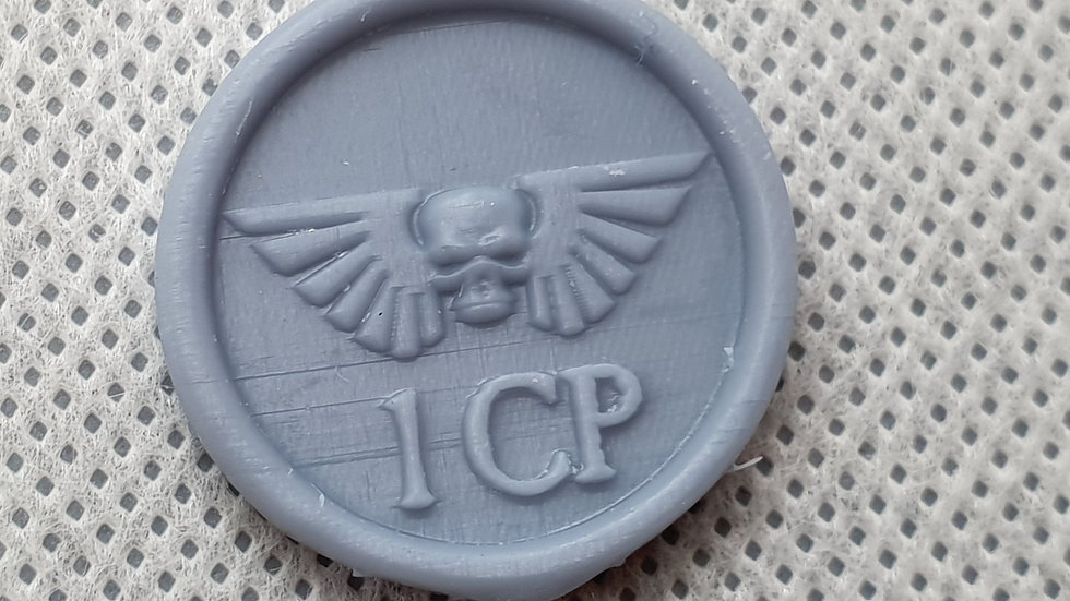 Imperial Guard Command Point Tokens