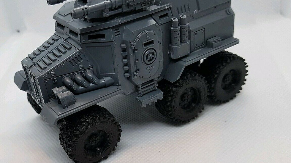 Off-road Wheels Taurox upgrade Warhammer 40k