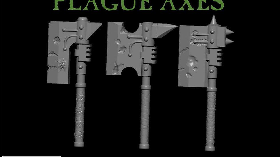 3x Plauge Axes